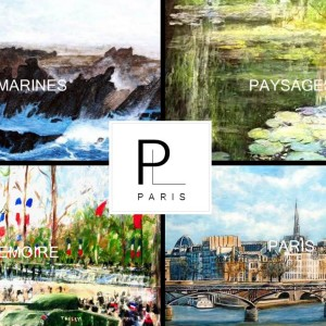 B2B - Promote a French artist by selling his paintings to enterprises